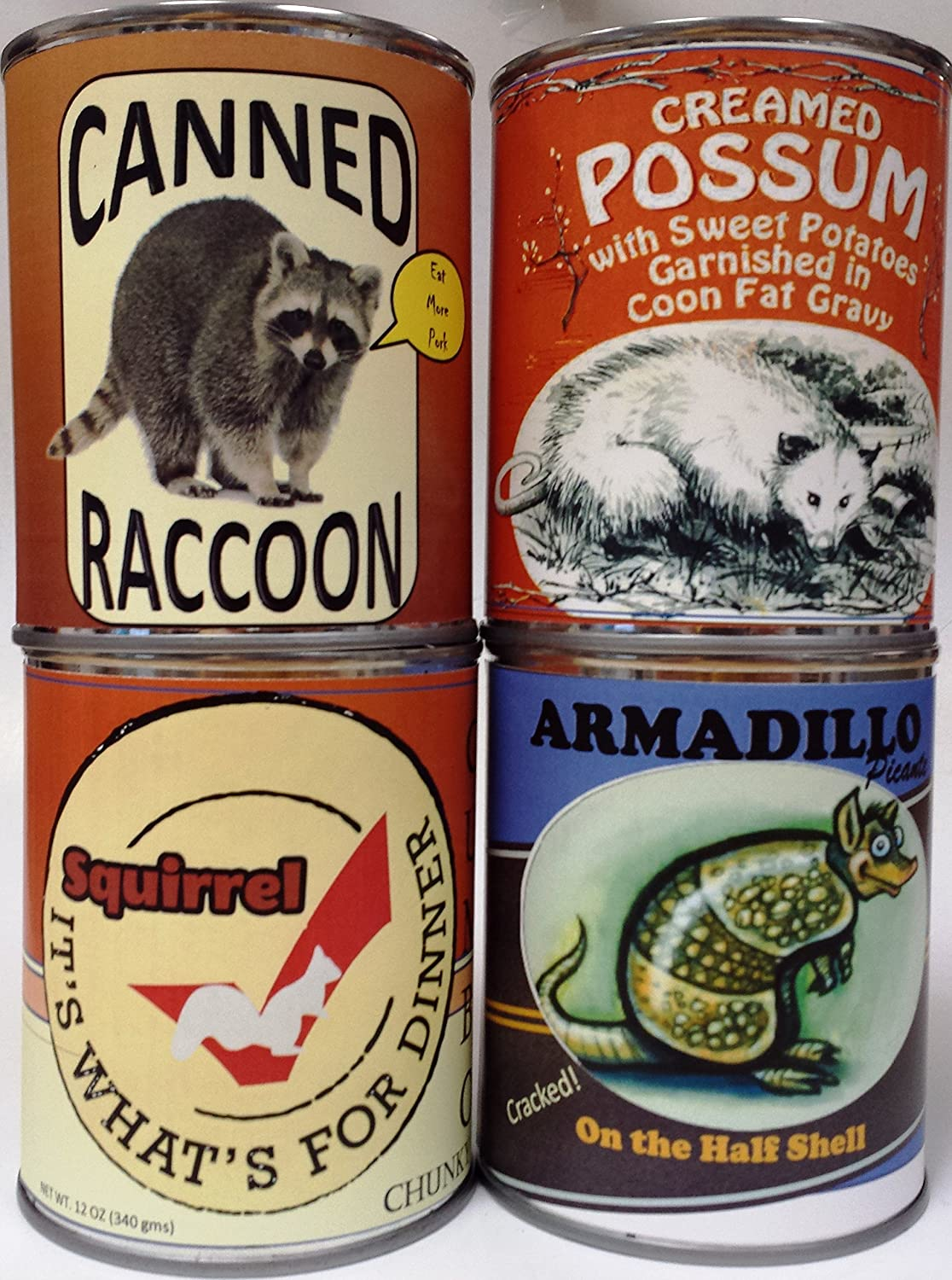Amazon com : Gag Canned Meat Combo Pack V: Creamed Possum