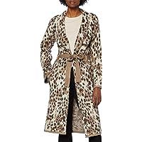 PIECES Pcsky LS Long Knit Coatigan Abrigo para Mujer
