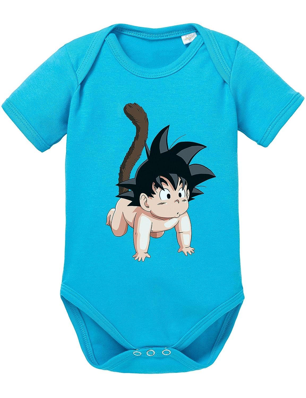 Son Goku Baby Strampler Body Dragon Master Son Ball Vegeta Turtle Roshi Db Sonbaby-Baby