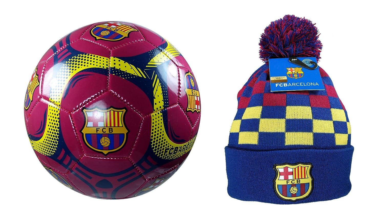 FCB FC Barcelona - Pelota de Fútbol con Licencia Oficial (Tamaño 5 ...
