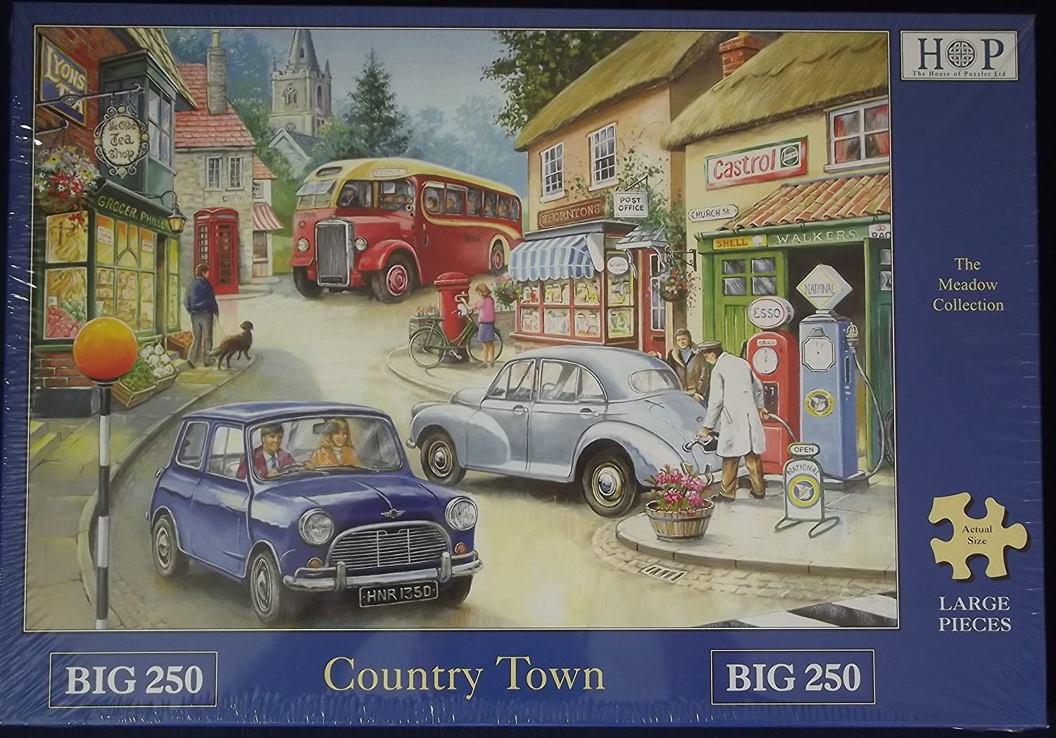 Country Town 250 large piece jigsaw by