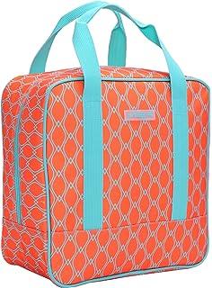 15e196f50 MIER Cooler Bag bolsa Adulto bolsa de almuerzo térmica, grande, naranja  brillante