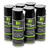 6x Spraytive 400 ml Power Druckluftspray / Druckluftreiniger mit 100mm Sprühverlängerung   Druckluft aus der Dose (Air Duster)   Für die Reinigung von Tastatur, PC / Computer, Kamera   Made in Germany!