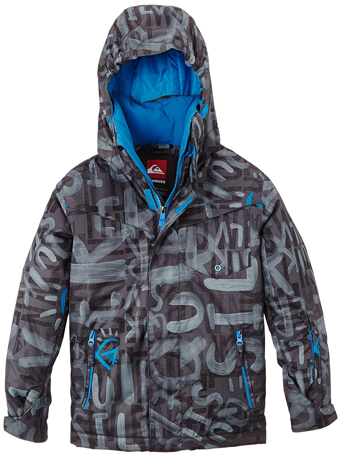 Quiksilver Jungen Snowboard Jacke Mission Printed Y