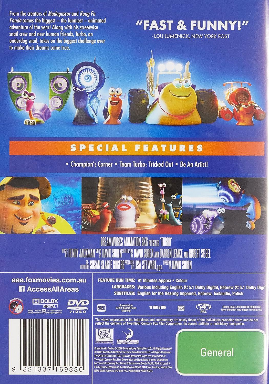 Turbo Generic Edizione: Australia Italia DVD: Amazon.es: Cine y Series TV