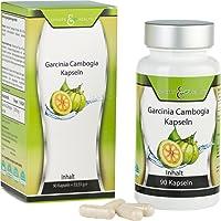 Garcinia Cambogia Extrakt Kapseln - 1500 mg Pures und Reines Garcinia - 60% HCA - 1 Monatskur – Ohne Magnesiumstearat – Premiumqualität- Herstellung in Deutschland