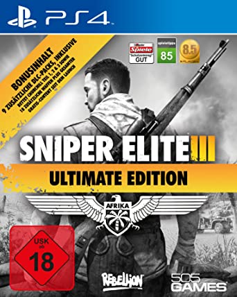 Sniper Elite 3 Ultimate Edition Playstation 4 Amazon De Games