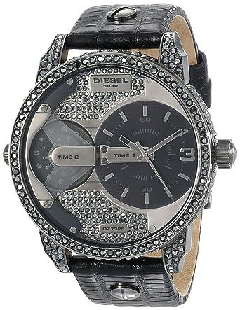 Amazon.com: Diesel Mens DZ7328 Mini Daddy Analog Display Analog Quartz Black Watch: Diesel: Watches