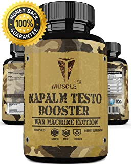 _ANABOLIC_ Napalm TESTO Booster_ Extreme Natural Testosterone Booster – Lean Muscle – Fast Growth – Extreme