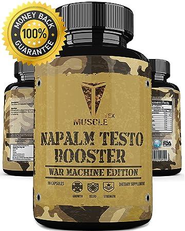 Amazon Com Anabolic Napalm Testo Booster Extreme Natural
