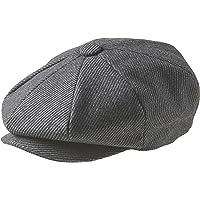 Peaky Blinders 'Newsboy' Style Flat Cap -100% Wool