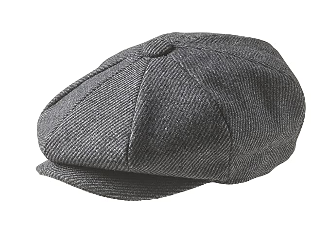 Peaky Blinders - Casquette plate gavroche ou style « Newsboy » - 8 parties  - 100 8a0490a9514