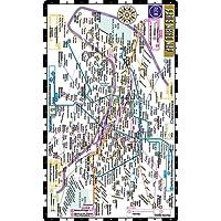 Streetwise Paris Metro Map - Laminated Metro Map of Paris, France: City Plans (Michelin City Plans)