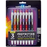 uni-ball 207 Colors Retractable Gel Pens, Medium Point (0.7mm), Assorted, 8 Count
