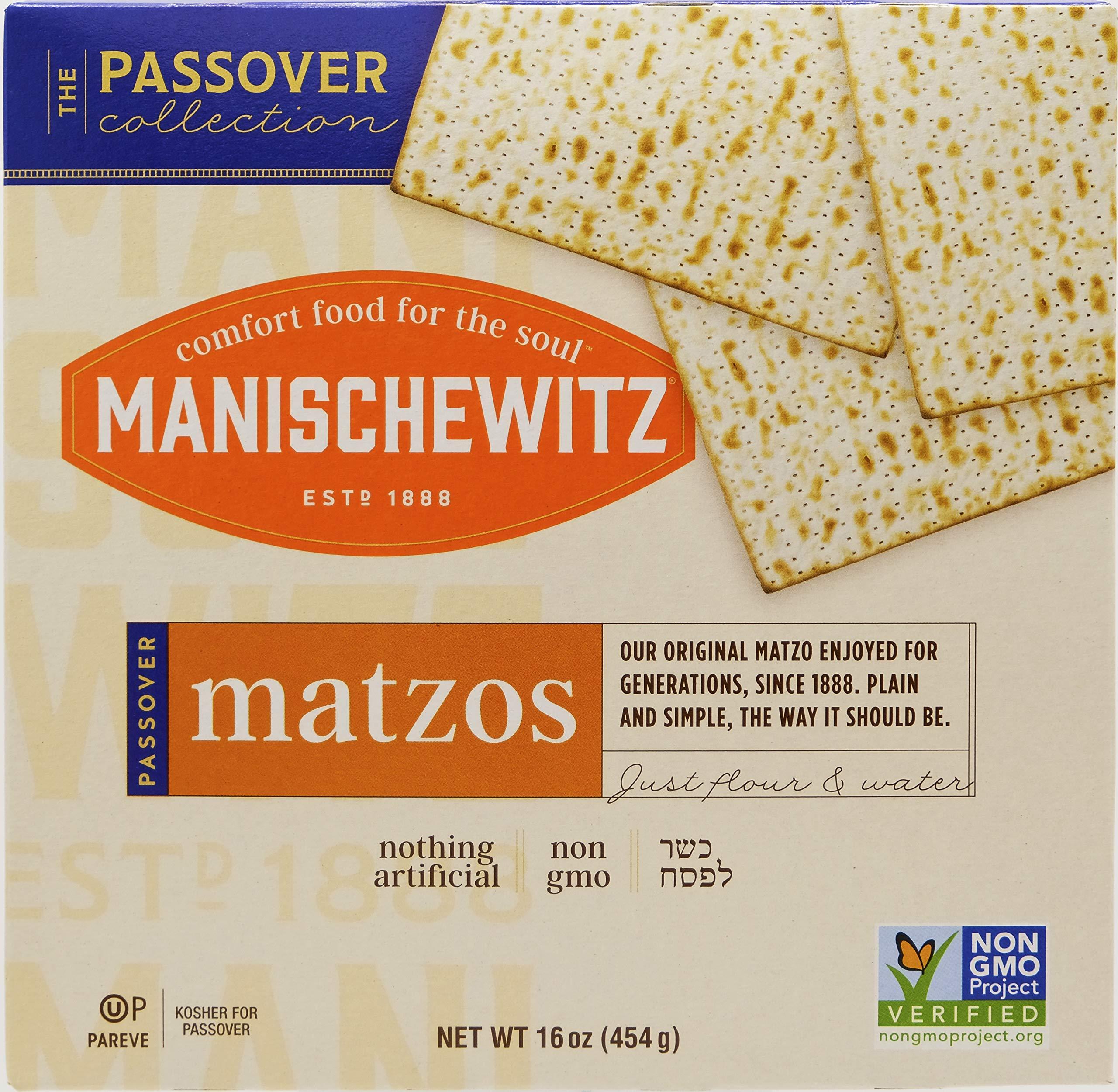 Manischewitz Passover Matzo 1 Pound (1 Box )