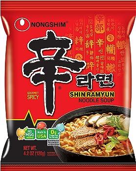 20-Pk. NongShim Shin Ramyun Noodle Soup (4.2 Ounce)