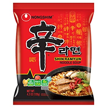 Image result for shin ramyun