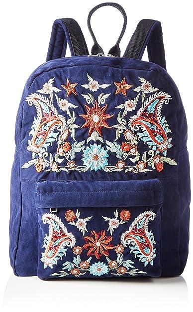 Pieces Pcjessica Backpack, Sacs portés dos femme, Schwarz (Black), 13x36x28 cm (B x H T)