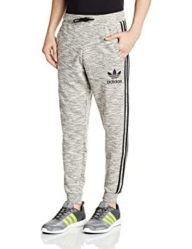 0aab439fbd85d Adidas Clfn Pantalon Homme, Gris, FR   M (Taille Fabricant   M)