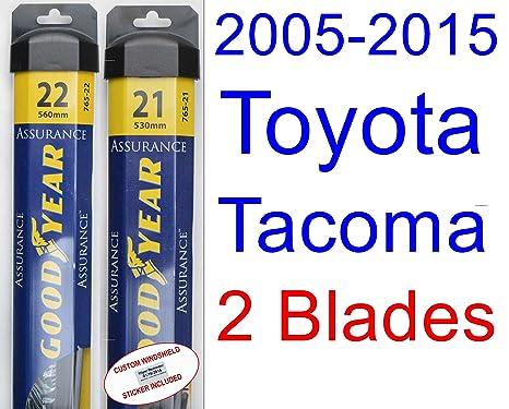 Goodyear Wiper Blades-Assurance - Juego de limpiaparabrisas de repuesto