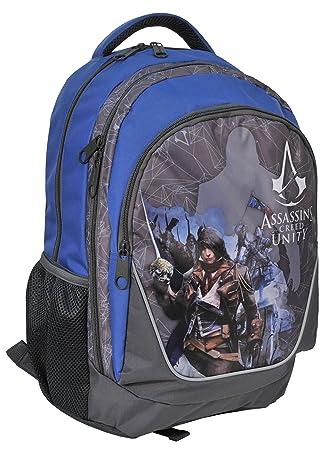 Paso Assassin s Mochila Assassins Creed Mochila Escolar Gamer ACA de 367