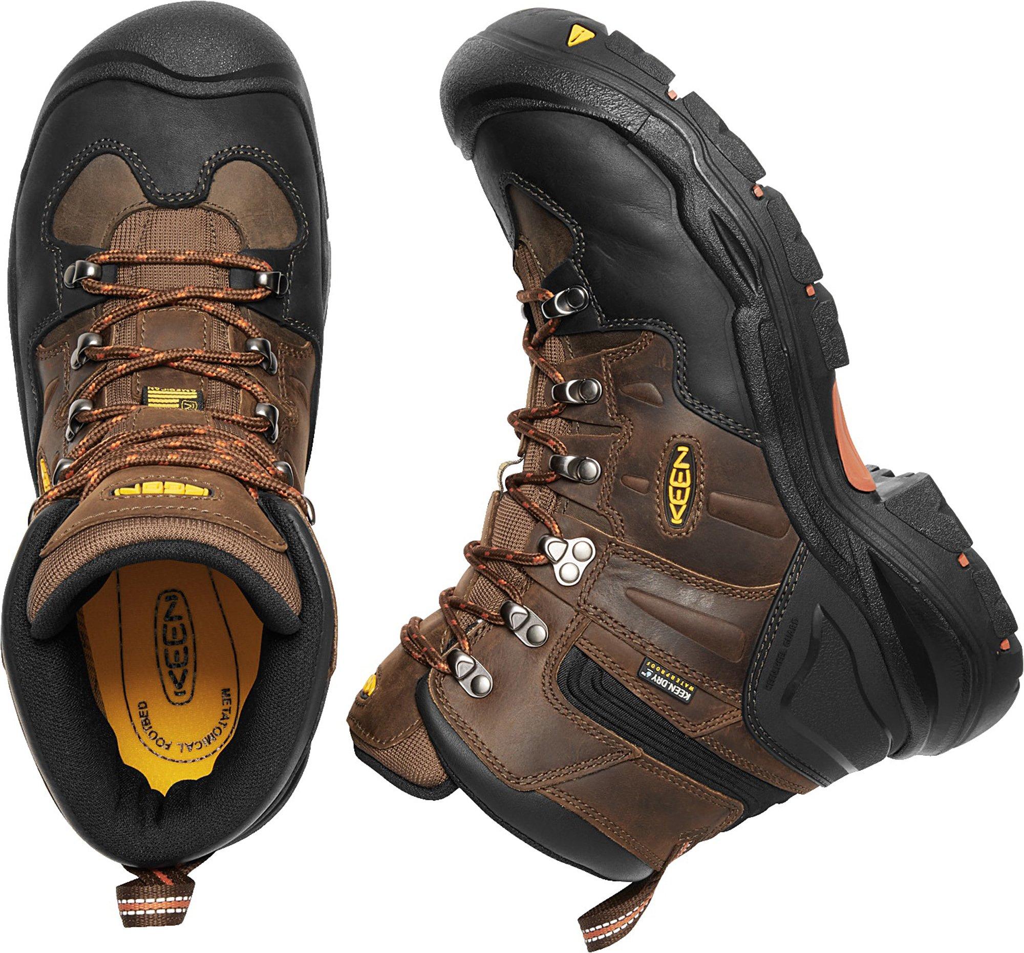 KEEN Utility Coburg 6'' WP (Steel Toe), Men's Work Boot, Cascade Brown/Brindle, 8 EE by KEEN Utility (Image #5)