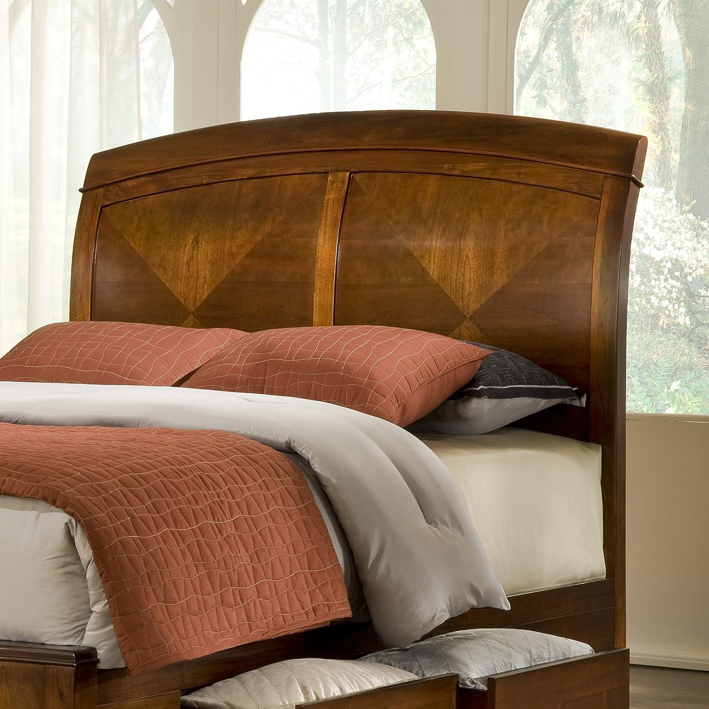 Amazoncom Modus Furniture Br15D5 Brighton Wood Storage Bed, Queen, Cinnamon