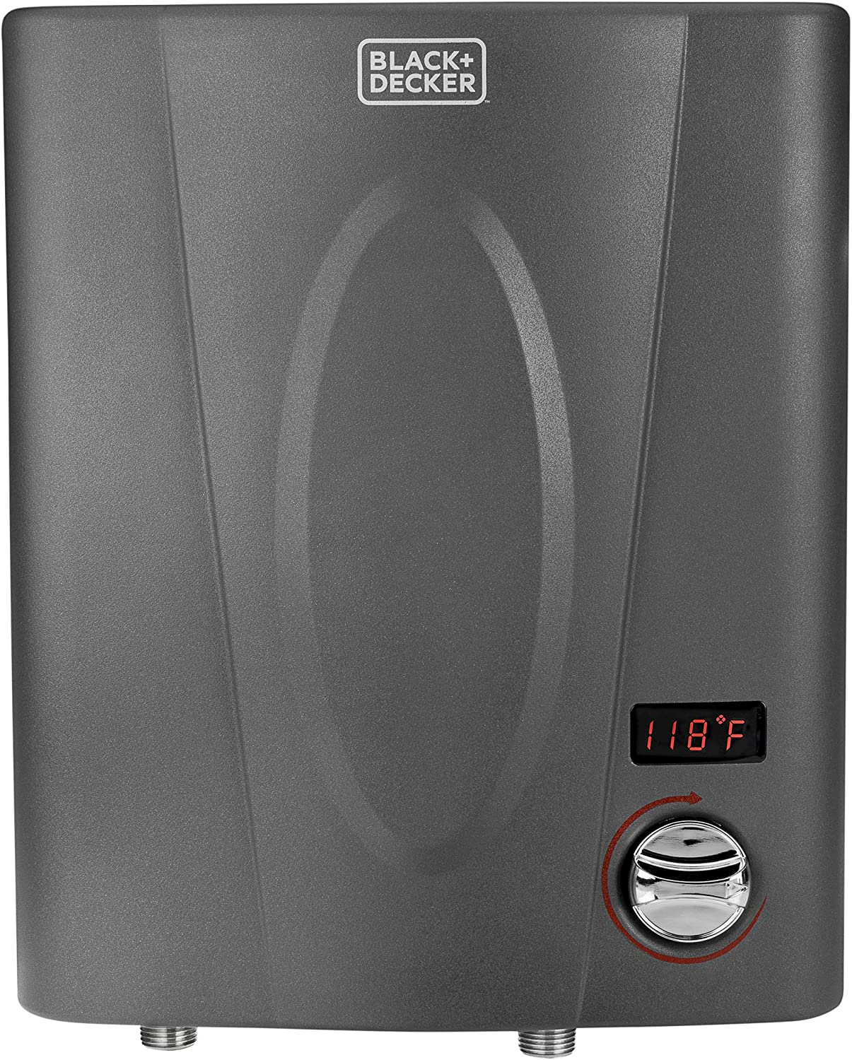 BLACK + DECKER 7kW Self-Modulating 1.5 GPM Electric Tankless Water Heater, Point of Use hot water heater electric