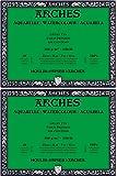 "Arches Watercolor Block, Cold Press 9""X12"", 200177166, White, 9""x12"" (2 Pack)"
