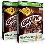 Chocapic Nestle Chocolate Breakfast Cereal 375g (Pack of 2)