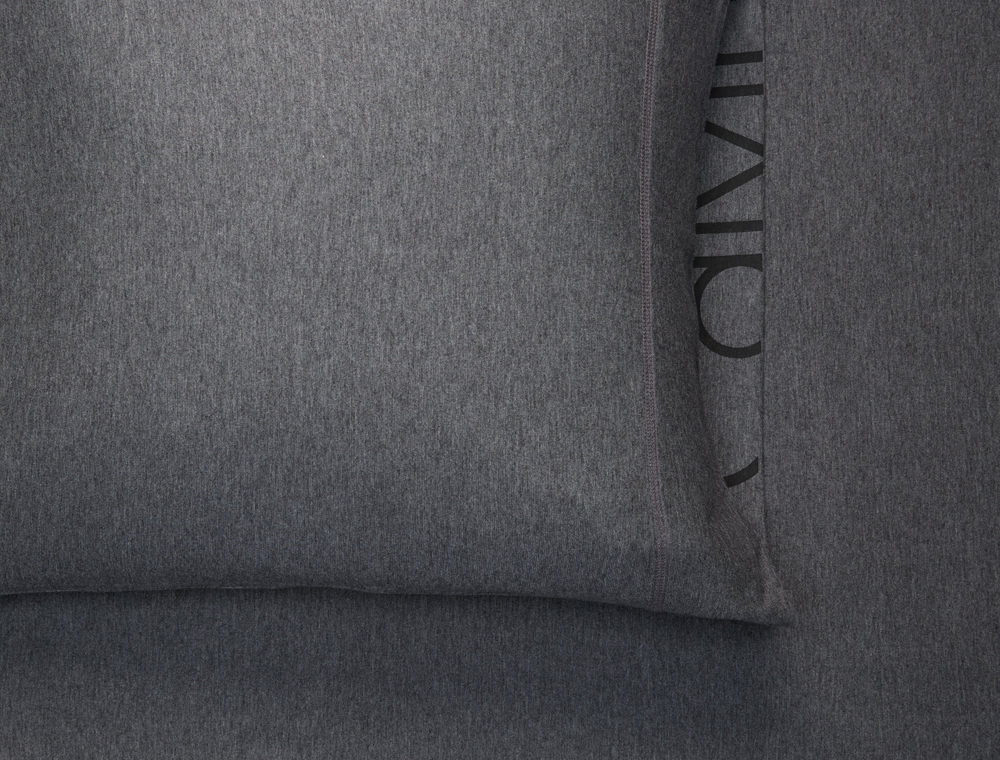 Calvin Klein Home Modern Cotton Body Duvet Cover, King, Charcoal by Calvin Klein (Image #4)