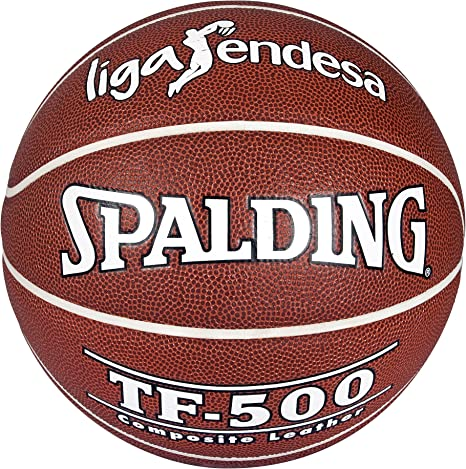 Spalding ACB Tf500 In/out Sz.7 74-504Z Balón de Baloncesto, Unisex ...