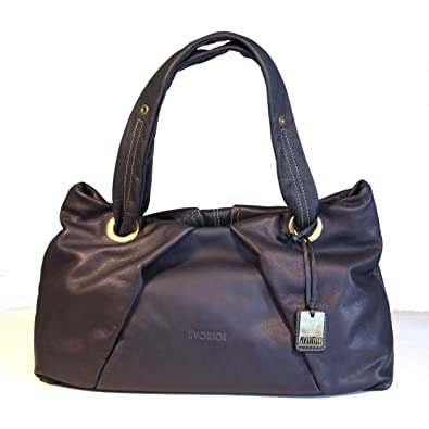 ab77310f842d6 Avorio Women s Italian Calfskin Leather Bag Navy  Handbags  Amazon.com