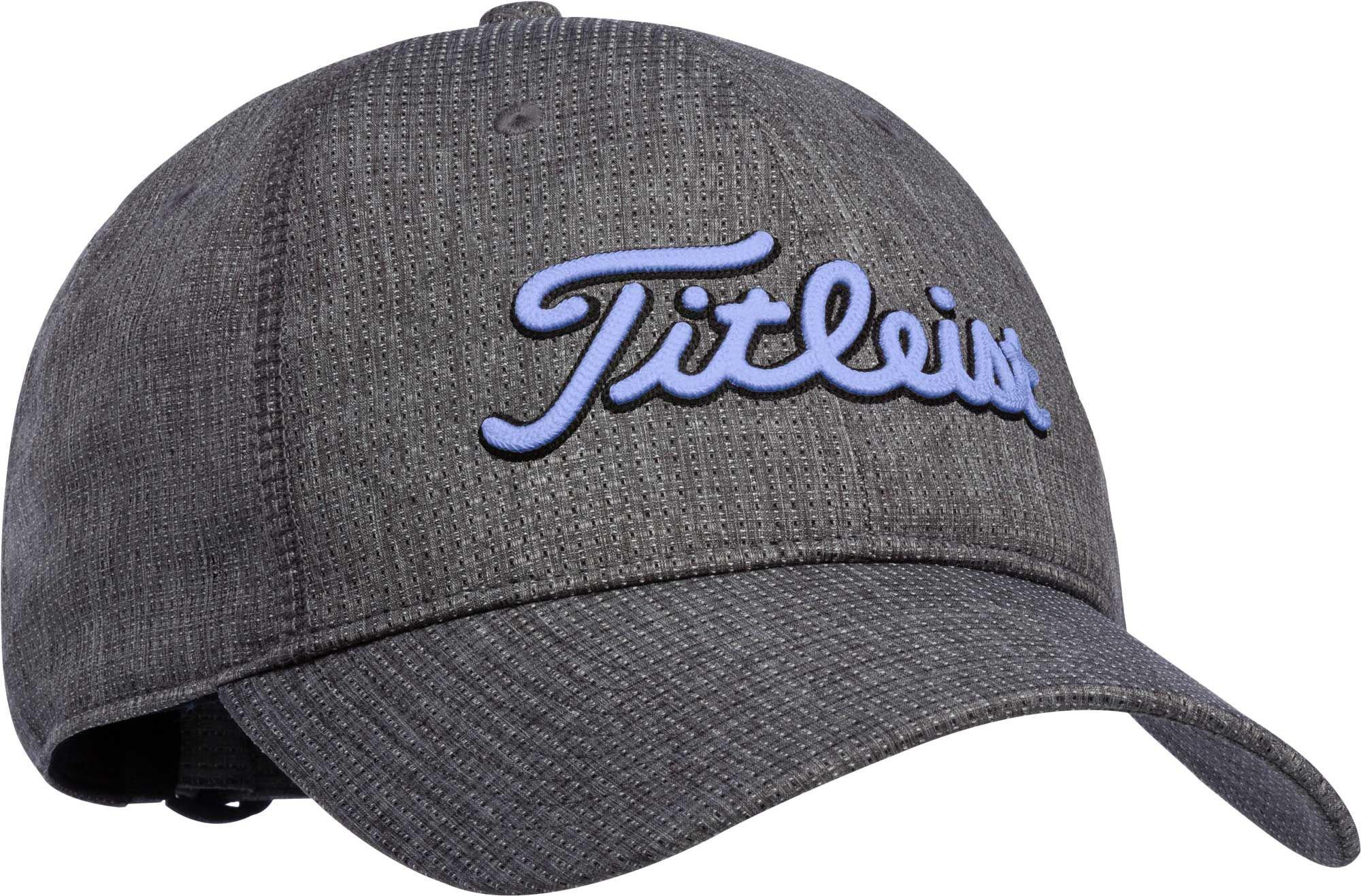 Titleist Women's Breezer Golf Hat (Black/Lavender, OneSize)