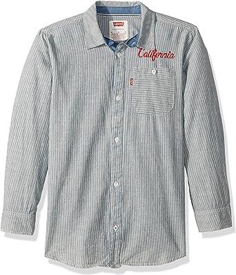 Levis Long Sleeve One-Pocket Shirt - Camisa de Manga Larga con un Bolsillo Niños: Amazon.es: Ropa y accesorios