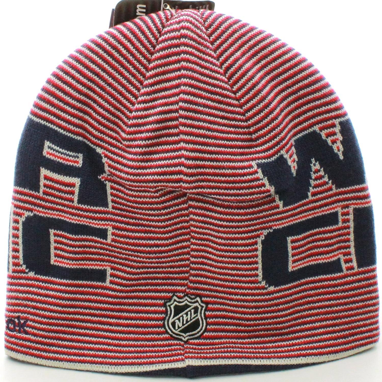 4f23b8bfd2cf2 Amazon.com   NEW York Rangers NHL 2012 Winter Classic Logo Knit Hat By  Reebok   Sports Fan Beanies   Sports   Outdoors