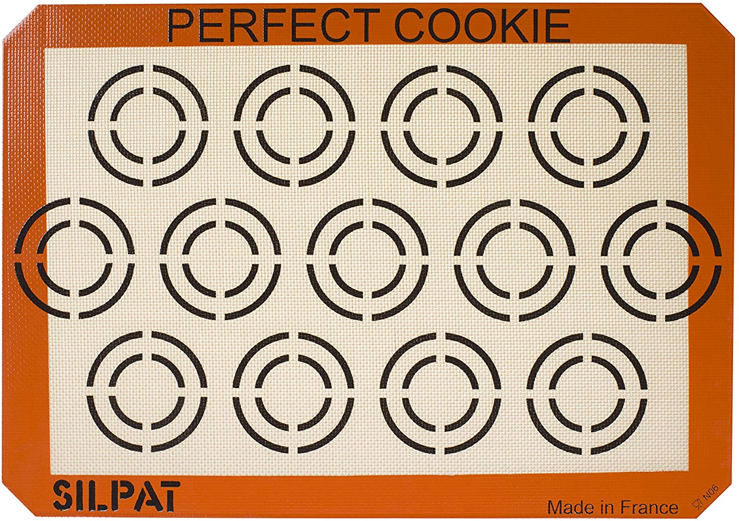"Silpat Perfect Cookie Non-Stick Silicone Baking Mat, 11-5/8"" x 16-1/2"": Kitchen & Dining"