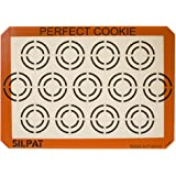 "Silpat Perfect Cookie Non-Stick Silicone Baking Mat, 11-5/8"" x 16-1/2"""