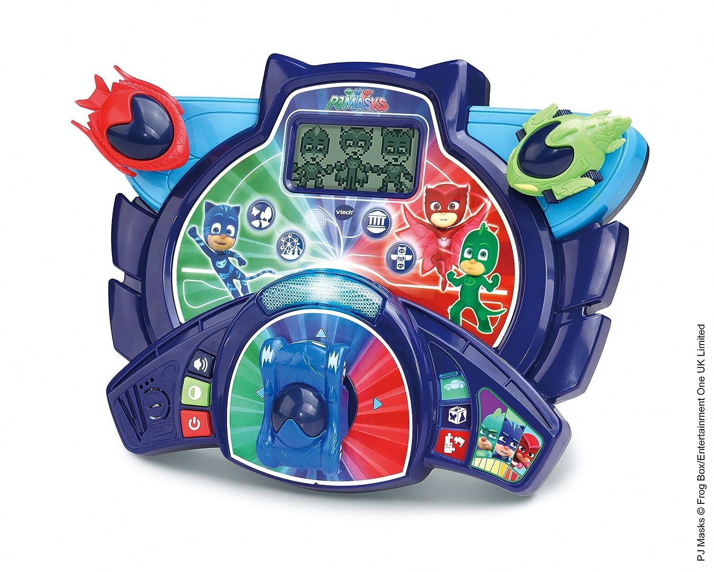 VTech Pyjamasques - le quartier General educatif Des Heros Niño - Juegos educativos (AA, 400 mm, 133 mm, 305 mm, 1,2 kg): Amazon.es: Juguetes y juegos