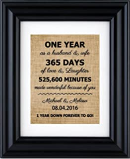 personalized anniversary gift for 1st10th20th30th wedding anniversary 1st anniversary
