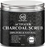 Amazon Price History for:BEST Activated Charcoal Scrub 10 oz. - Pore Minimizer & Reduces Wrinkles, Acne Scars, Blackheads & Anti Cellulite Treatment - Great as Body Scrub, Facial Scrub & Face Cleanser