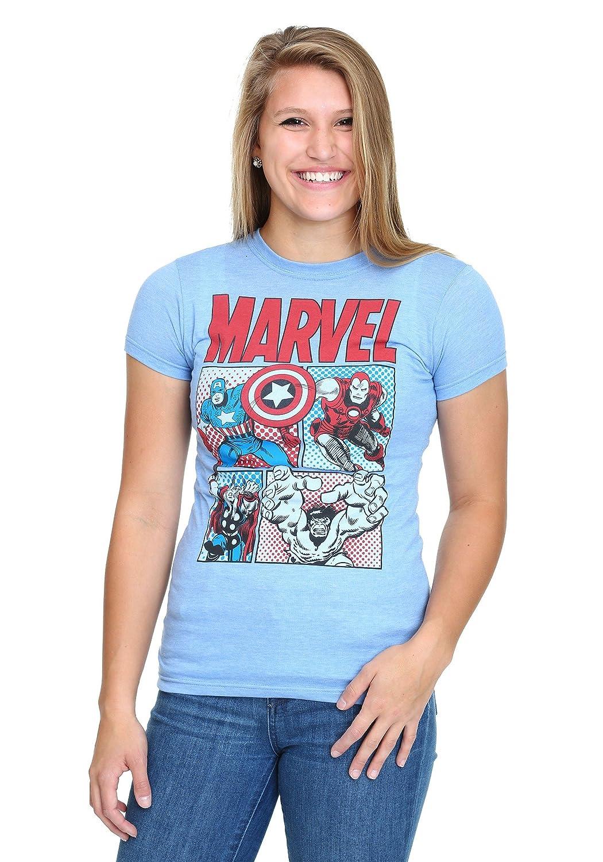 Women's Marvel Group T-Shirt 2X