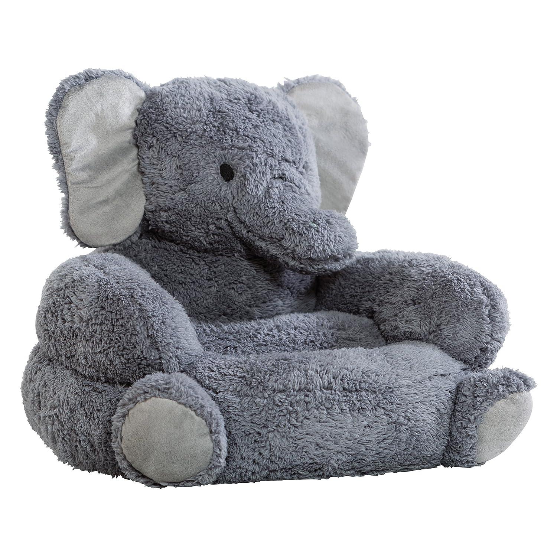 High Quality Amazon.com: Trend Lab Childrenu0027s Plush Character Chair, Elephant/Gray: Baby