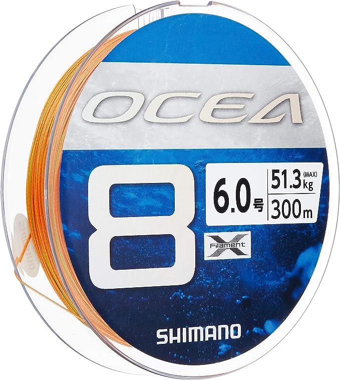 シマノ オシア8 300m 6号の画像