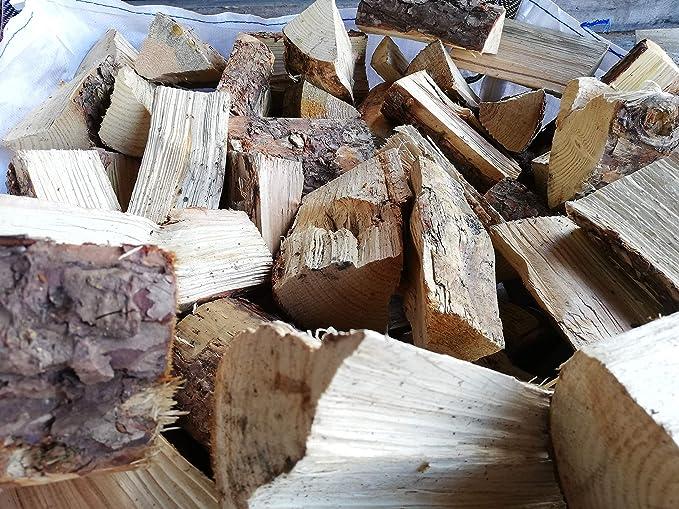 Premium Kiln-Dried Firewood Logs Small Bags to Builders Bags Softwood Logs, 10KG Hardwood /& Softwood