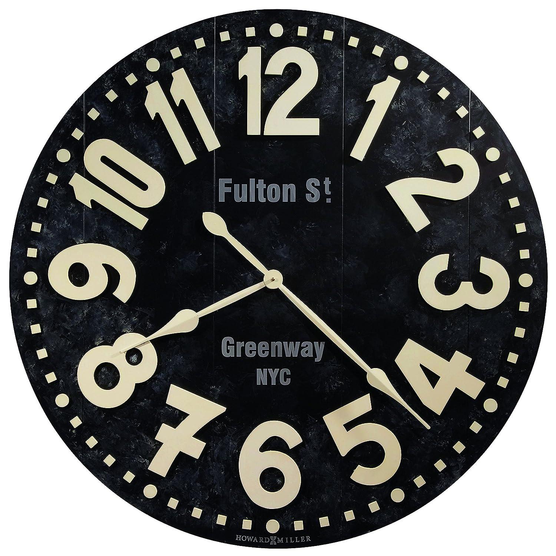 Amazon howard miller fulton street clock home kitchen amipublicfo Gallery