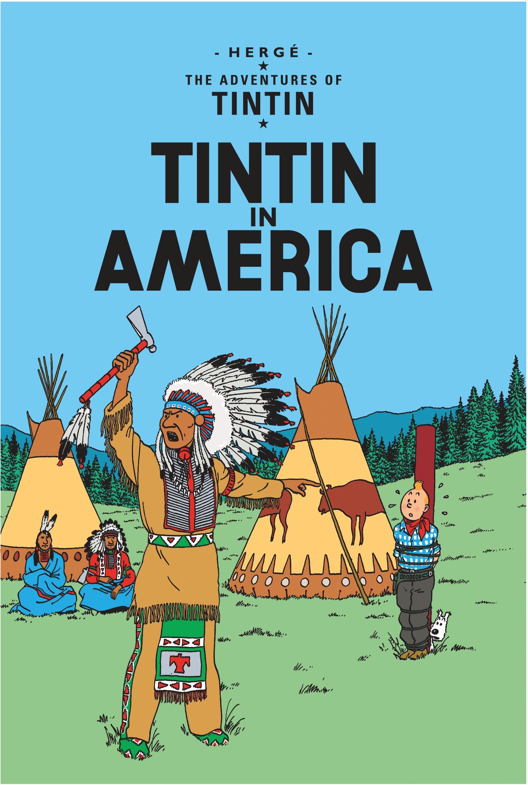 tintin in america adventures of tintin paperback