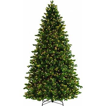 bethlehem lighting gki savannah spruce medium christmas tree with 450 clear mini lights 6