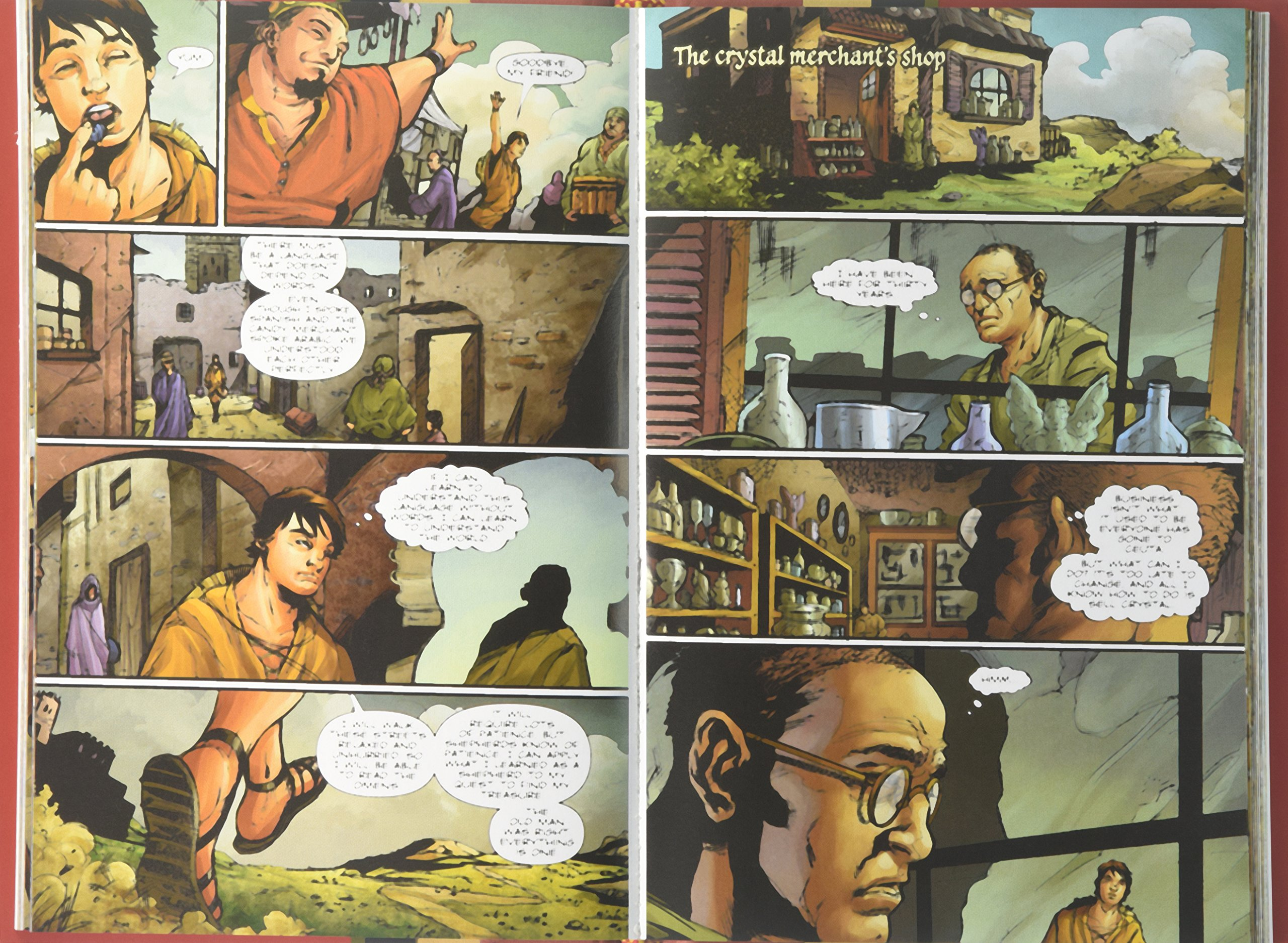 the alchemist a graphic novel ca paulo coelho books