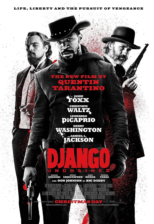 "NEW LARGE 24/"" X 36/"" TARANTINO/'S DJANGO UNCHAINED MOVIE POSTER"